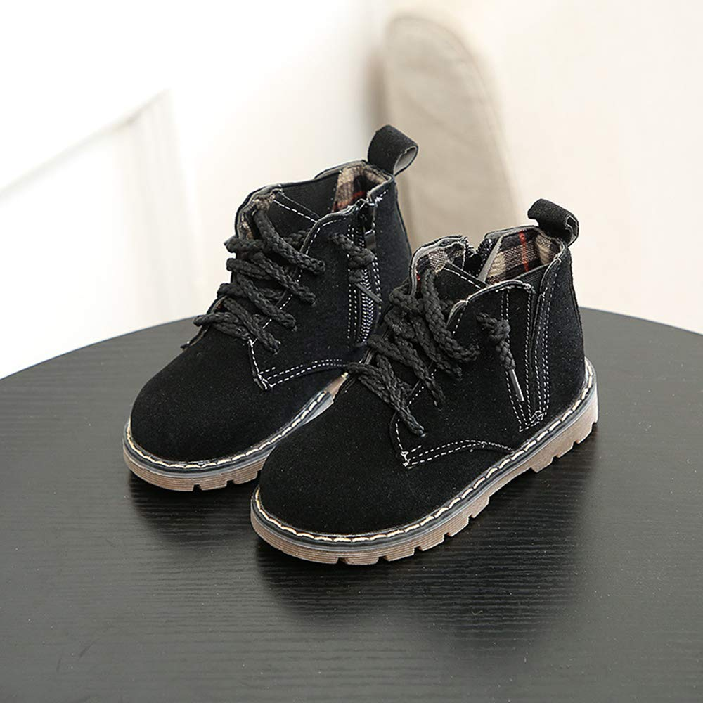 Fashion Solid Color Boots Boys Girls Casual Martin Boots XFentech Boots Kids