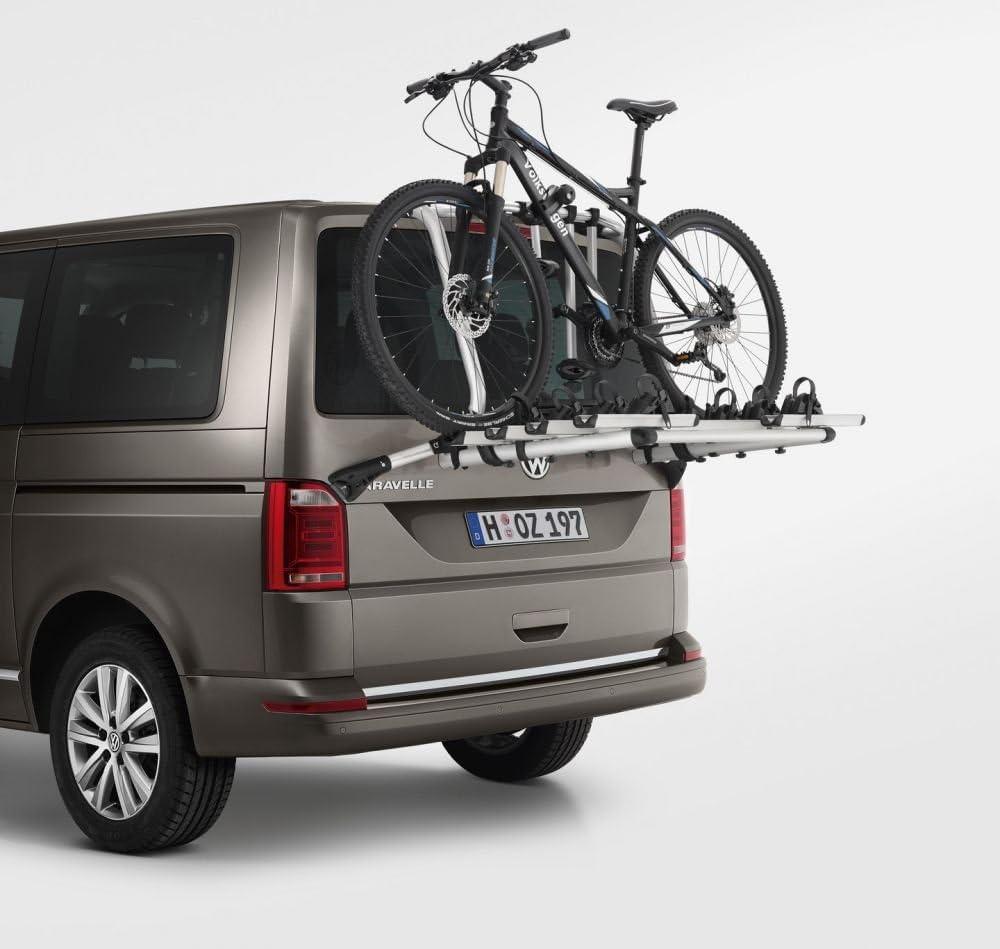 Volkswagen 7e0071104 Original Vw T6 Fahrradträger Max 4 Fahrräder Nicht Für Elektrische Heckklappe Auto