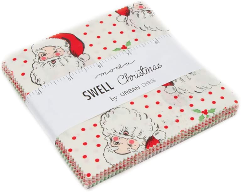 Urban Chiks Swell Christmas 1 60-inch by 52-inch Panel Moda Fabrics 31120P