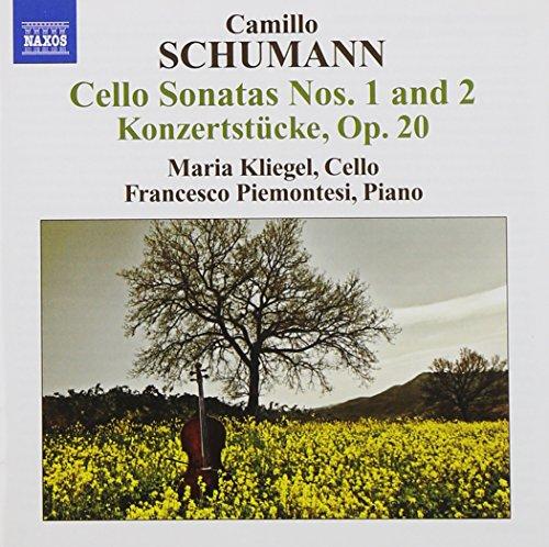 Camillo Schumann: Cello Sonatas, No. 1 & 2 ()