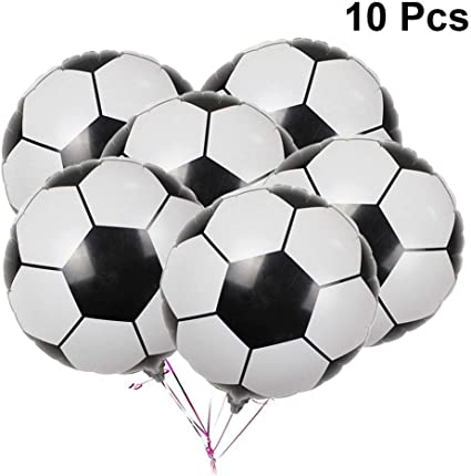 2018 Sport Theme Party Balloons Kit Decorations Soccer Ball Goal Party Supplies Balloon Inflator Football Balloons 18 Soccer Balloons