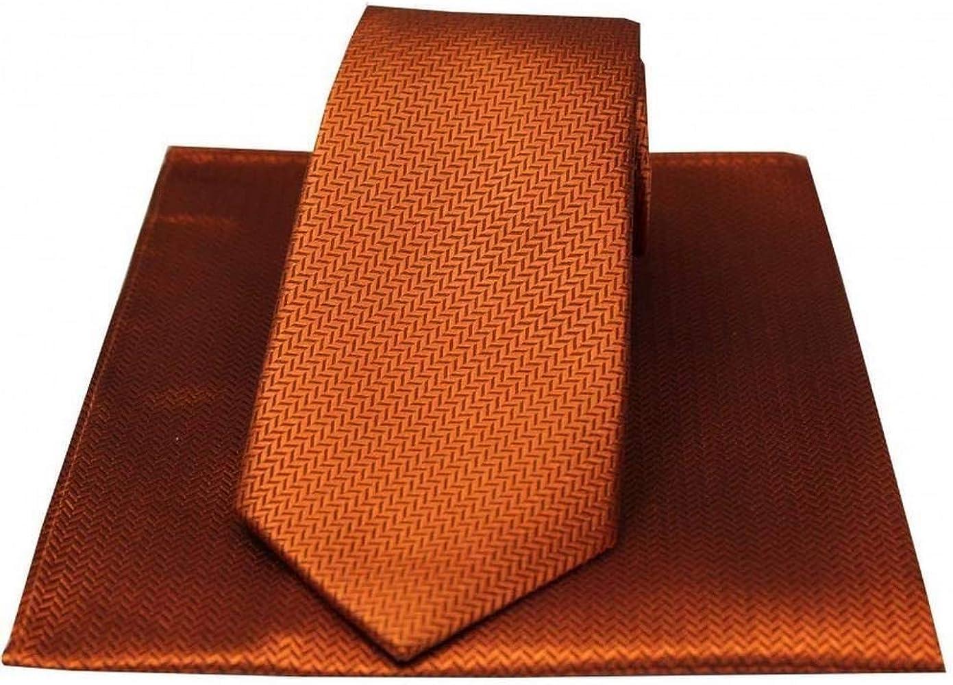 David Van Hagen - Pañuelo y corbata de espiga para hombre, color ...