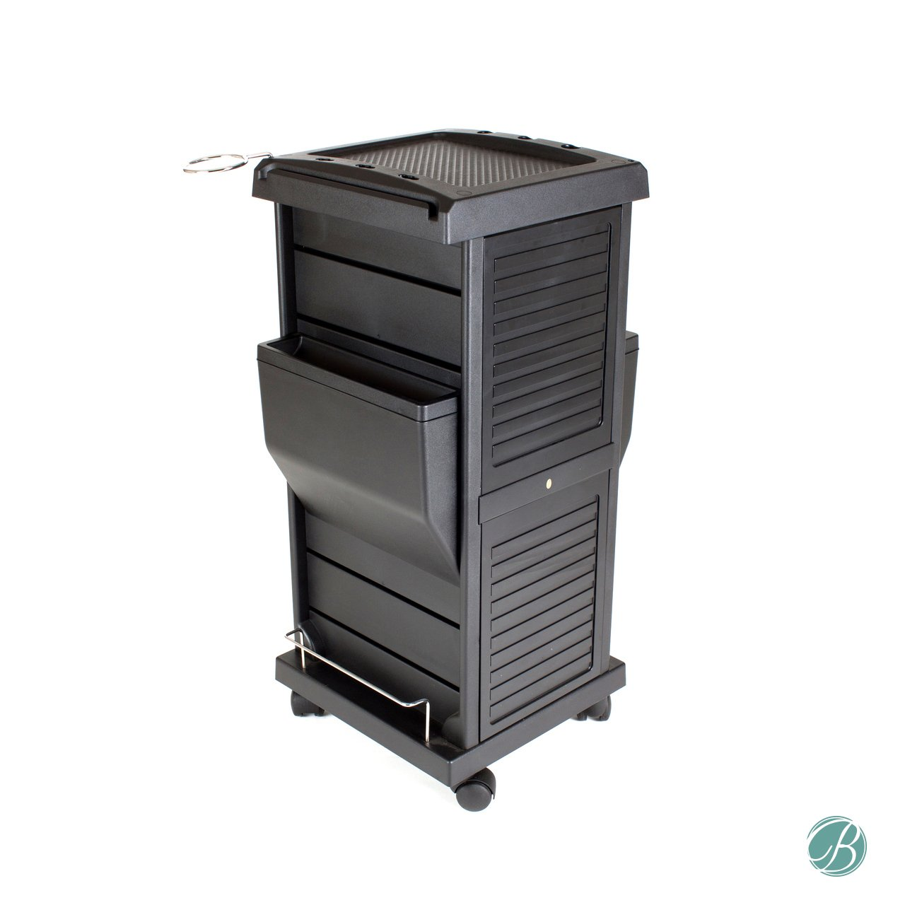 Berkeley Lockable Salon Trolley Cart Perfect for Hair Salon,Tattoo Studio, Spa, Office, Skincare, Day Spa