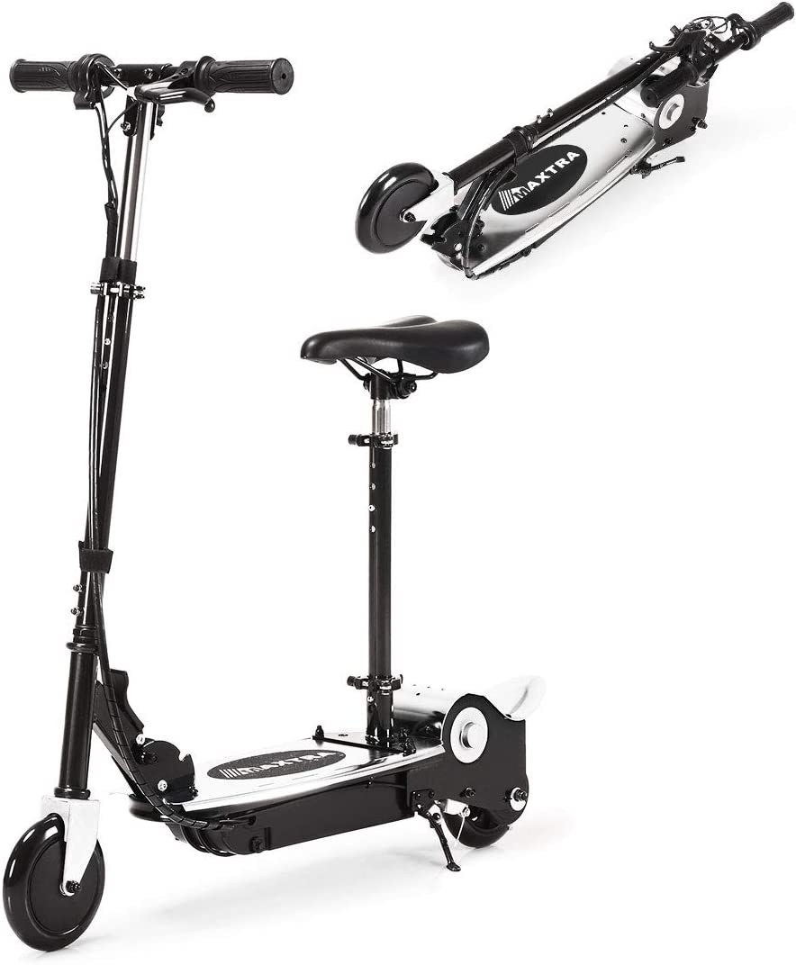 Maxtra E120 Folding Electric Scooter With Removable Seat