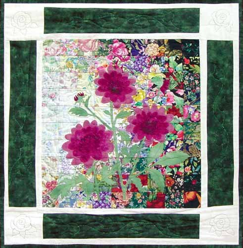 Used, Whims Rachel's Flower Garden Block #9 ONLY - Water for sale  Delivered anywhere in USA