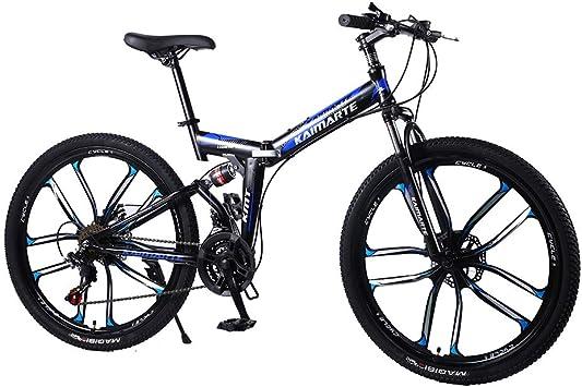 Liu Yu·casa creativa Bicicleta de montaña Plegable,21/24 / 27Speed ...