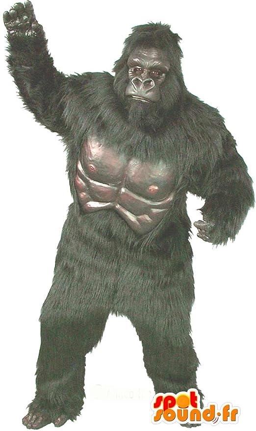Traje de gorila gigante, muy realista: Amazon.es: Juguetes y juegos