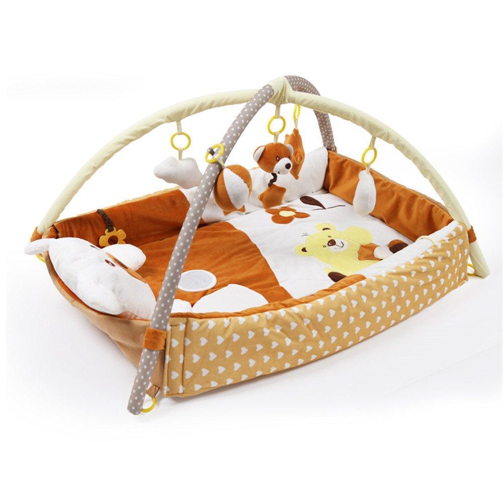 Baby Kind Krabbeldecken Spielbögen Spielmatte Spielbeldecken (A) OAMORE