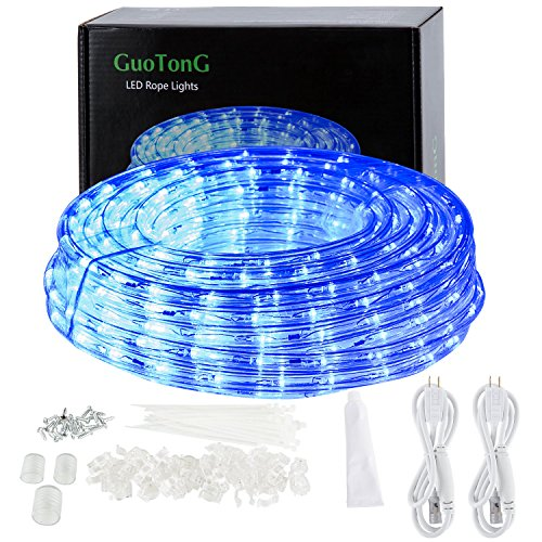 Bright Blue Led Rope Light