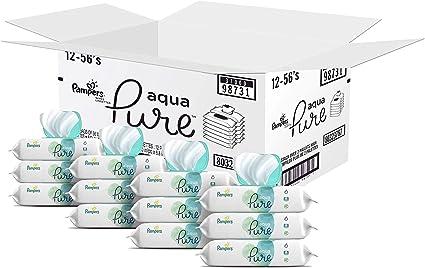 Aquapure Toallitas H/úmedas 18 Embalaje = 864 Toallitas H/úmedas Pampers 81691061