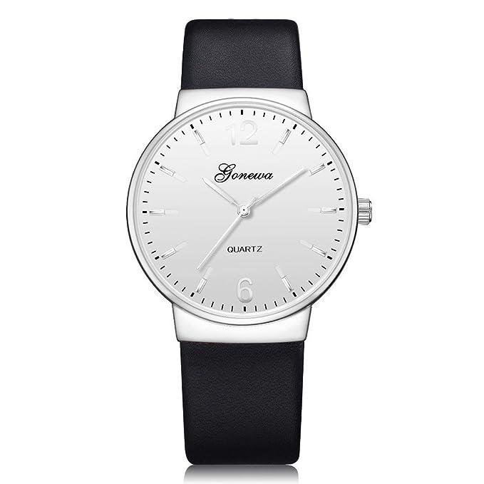 SamMoSon Reloj Relojes Hombre Deportivos Mujer, Reloj De Pulsera Análogo De Cuarzo Simple Casual para Hombres Relojes De Pulsera: Amazon.es: Ropa y ...