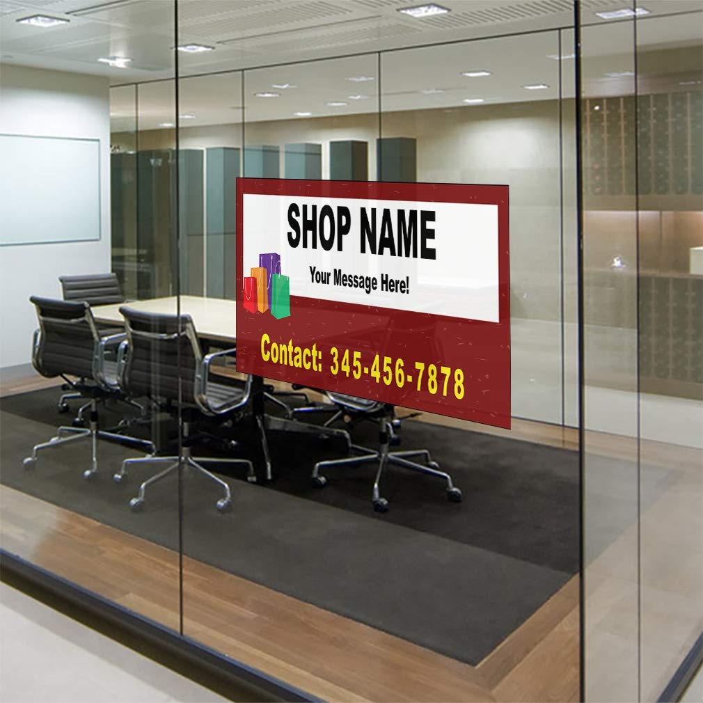 Custom Door Decals Vinyl Stickers Multiple Sizes for Rent White Red Business for Rent Outdoor Luggage /& Bumper Stickers for Cars Yellow 24X18Inches Set of 10