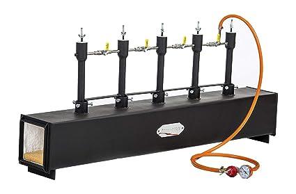 Gas Propane - 5 quemadores de espada para hacer cuchillos o hacer puntos negros