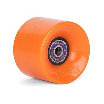 Penny tarjeta ruedas 59 mm Wheels Naranja - Cruiser ruedas con rodamientos y Spacer: Amazon.es: Deportes y aire libre