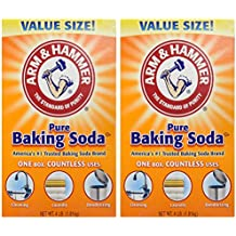 Arm & Hammer Baking Soda-4LB (01170) (Pack of 2)