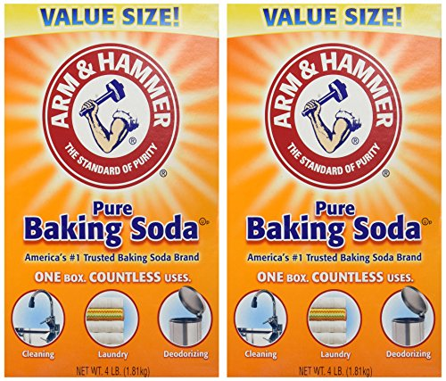 Arm & Hammer Baking Soda-4LB (01170) (Pack of