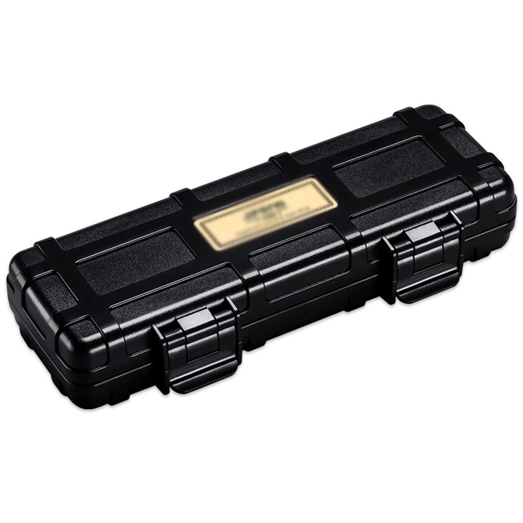 Cigar Box Portable Cedar Wood Humidifier Dustproof and Moisturizing Large Capacity Cuban Cigar Smoking 2 Sticks