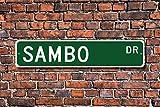 Sambo Sign Fan Sambo Gift Sambo Participant Soviet Martial Art Combat Sport Aluminum Sign Novelty Street Sign Outdoor Garage Cave Decor