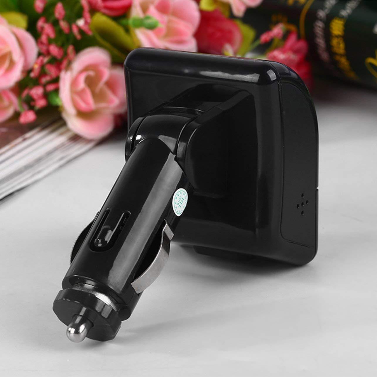 WOSOSYEYO QSS-50 Universel Bluetooth Mains Libres de Voiture sans Fil Lecteur MP3 Audio FM Modulator avec /écran LCD USB Chargeur pour t/él/éphones