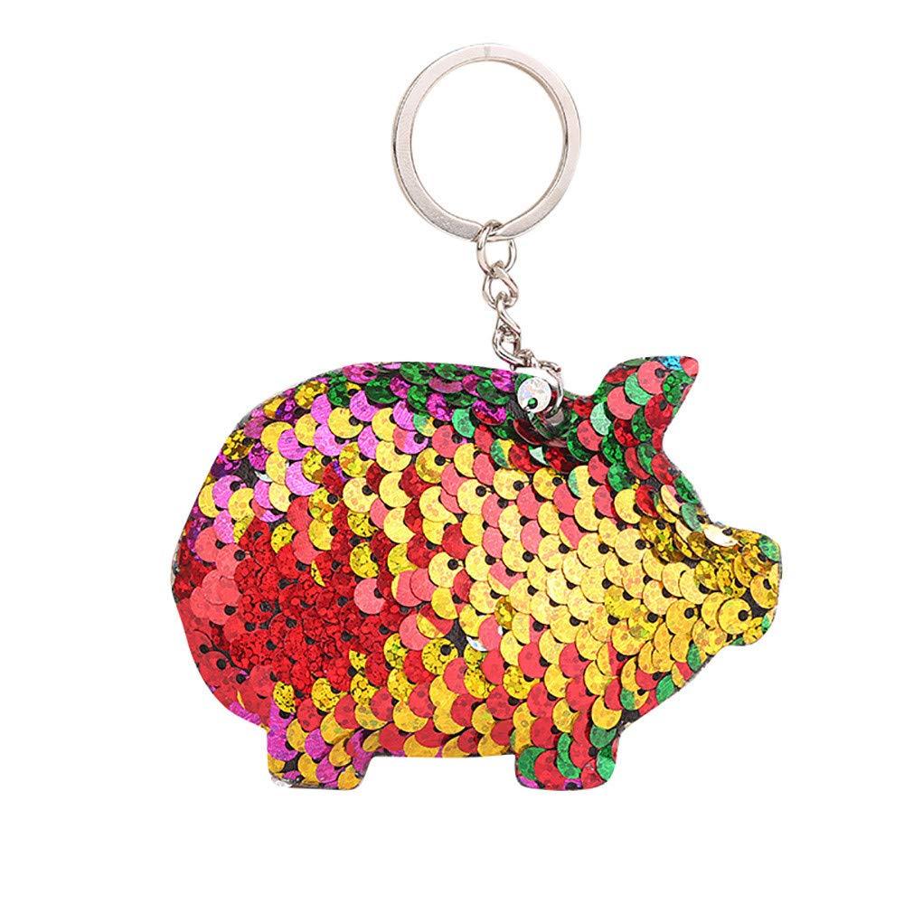Amazon.com: CocoMarket Moda llavero llavero linda cerdo ...