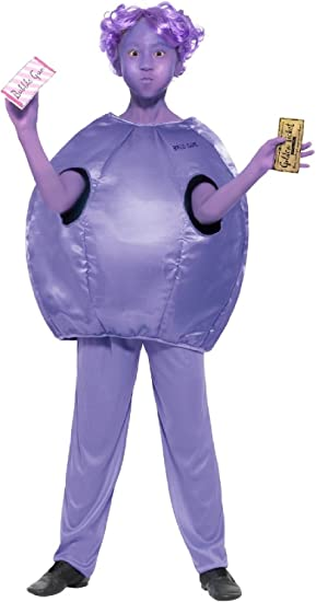 WILLY WONKA CHOCOLATE MAN FACTORY OWNER BOYS FANCY DRESS COSTUME