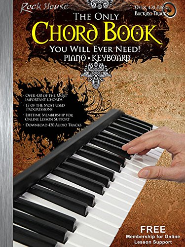 - The Only Chord Book You Will Ever Need!: Keyboard Edition