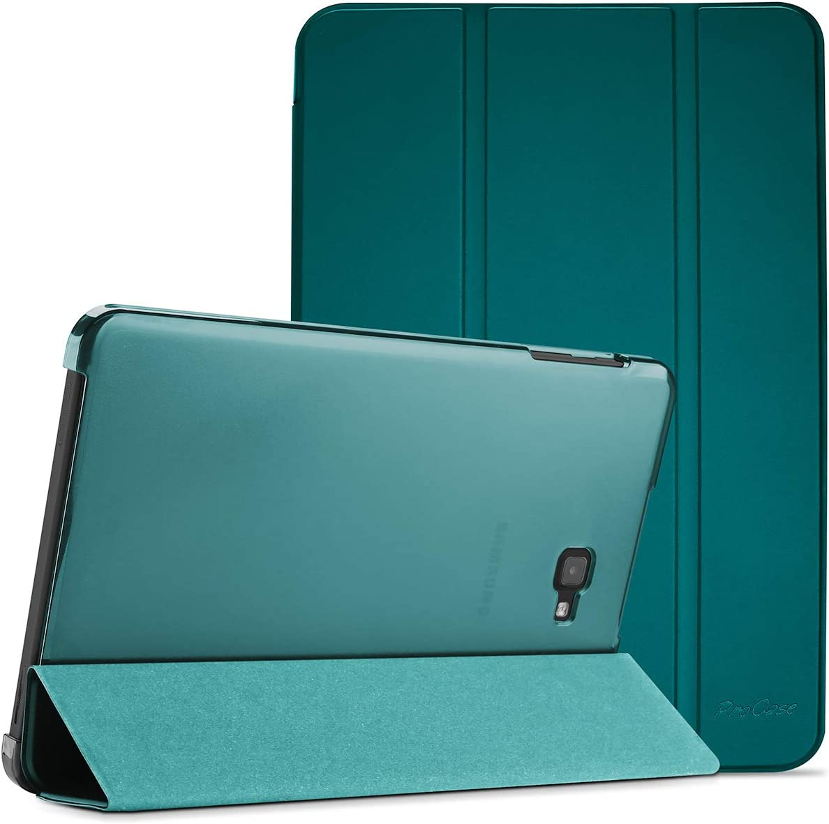 ProCase Old Model Galaxy Tab A 10.1 Case SM-T580 T585 T587, Slim Lightweight Stand Shell Smart Cover for Old 10.1 Inch Galaxy Tab A Tablet 2016 Model -Emerald