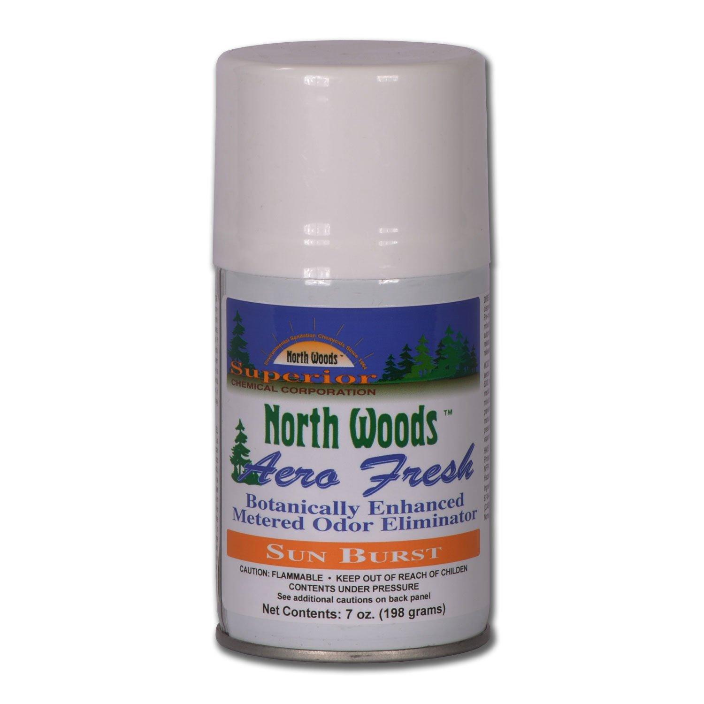 North Woods Aero Fresh - Sun Burst - Air Freshener (Pack of 12)