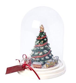 Amazon.de: Villeroy & Boch Cloche mit Weihnachtsbaum, 19, 5 x 19, 5 ...