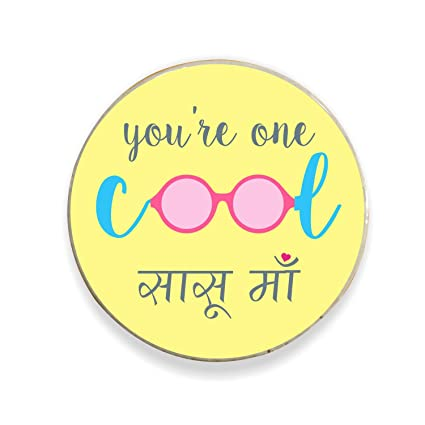Buy YaYa Cafe Birthday Gifts For Mother In Law Mom Cool Sasu Ma Fridge Magnet