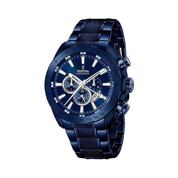 c5afd72e1d68 Festina F16887 1 - Reloj para hombre esfera cronográfica