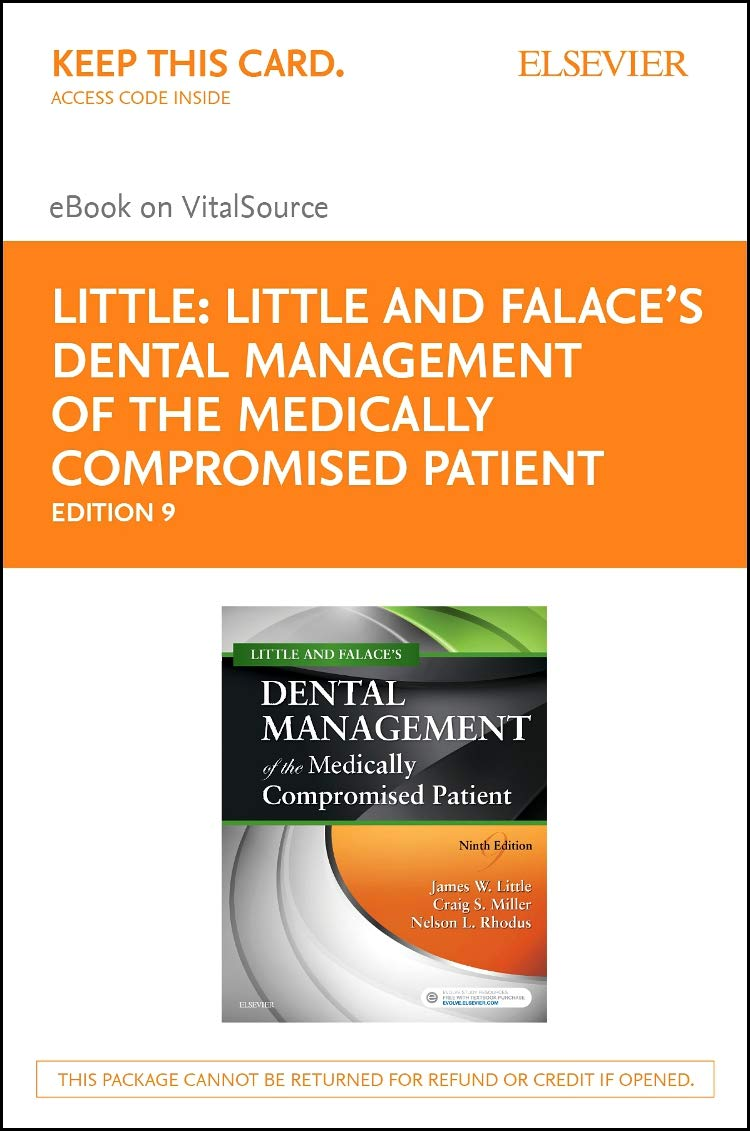 Dental Management Of The Medically Compromised Patient Ebook