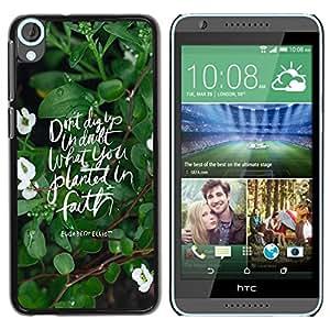 Dragon Case - FOR HTC Desire 820 - My heart is with you - Caja protectora de pl??stico duro de la cubierta Dise?¡Ào Slim Fit