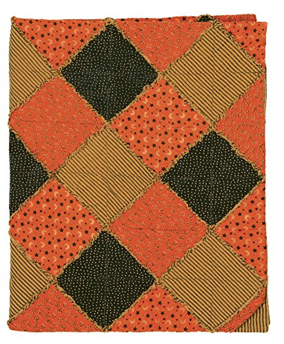 Great Finds 0513 Octavia Patchwork Rag Autumn & Stripes P...