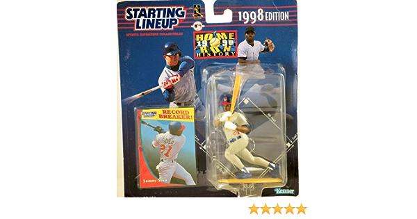 Starting Lineup MLB SAMMY SOSA HOMERUN RUN HISTORY COMEMMORATIVE 1998