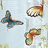 AliFish 1 Panel Dandelion and Butterfly Pattern