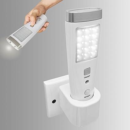 SoBuy Linterna de LED multifunción y con sensor, Lámpara de Led, Lámpara nocturna de