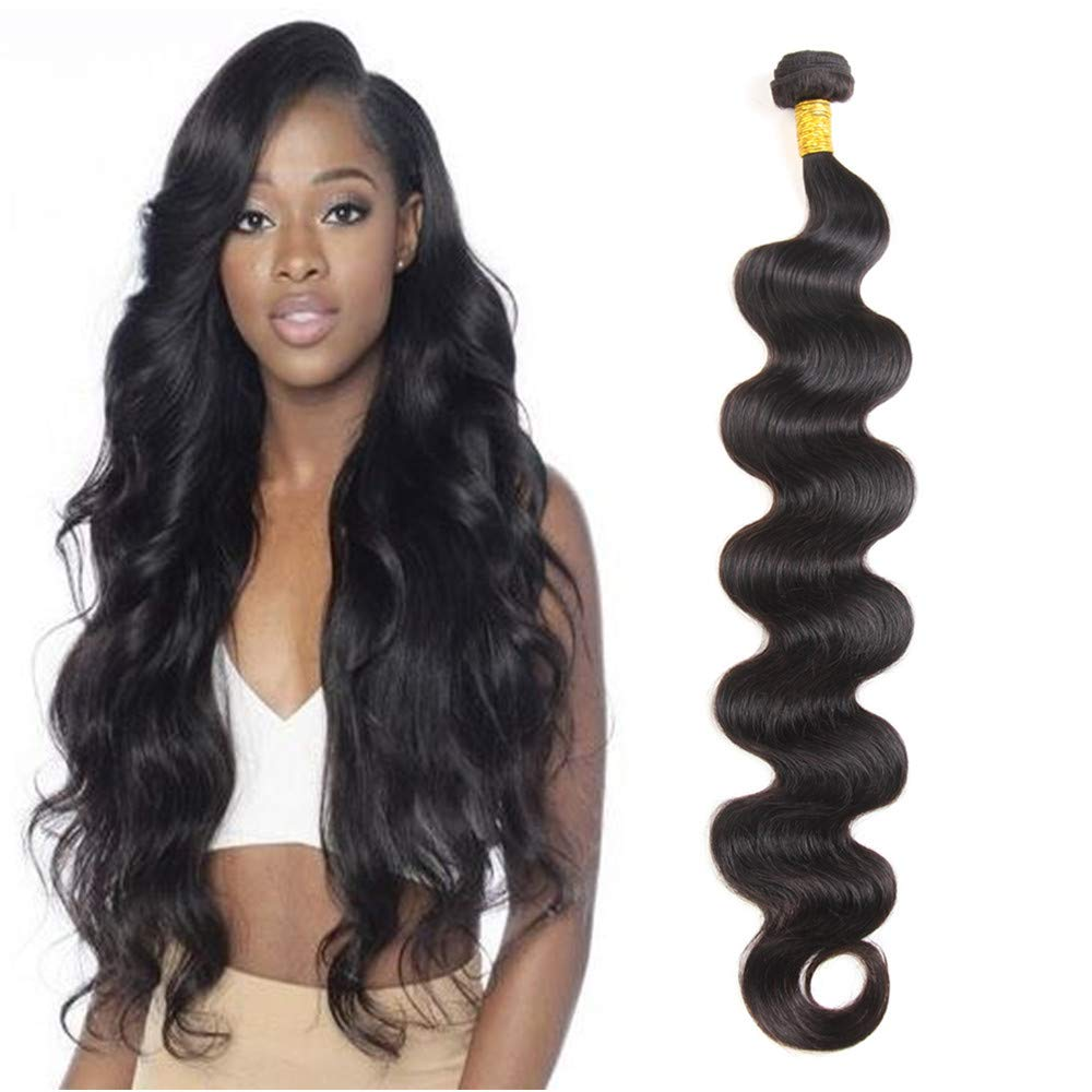 Amazon Com Alibless Long Length 28 30 32 34 36 38 40 Inch 4 Bundles Lot Natural Black Brazilian Body Weave Hair Bundles Remy Hair 30 30 30 30 Beauty