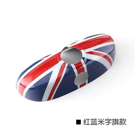 Amazon com: Red/Blue Union Jack UK Flag ABS Sticker Cover Trim Cap