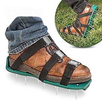 9e2a822cbe5 Ebung Lawn or Garden Aerator Shoes for Men   Women - Sturdy ...