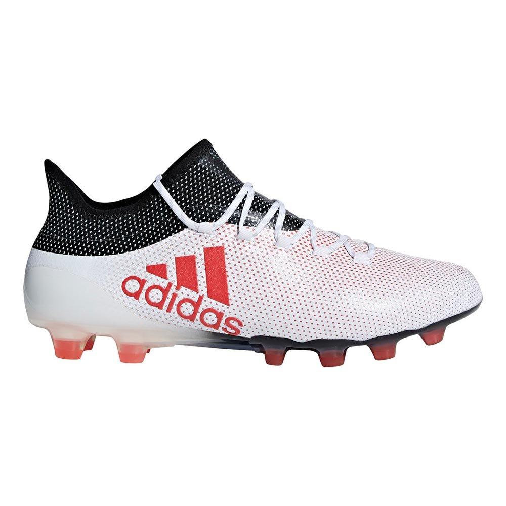 adidas(アディダス)サッカースパイクシューズ エックス 17.1 ジャパン HG CQ1975 ランニングホワイト 27.5 B07B8K991B