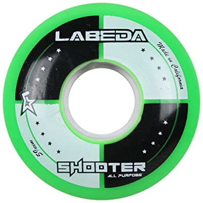 Labeda Wheels Inline Roller Hockey Shooter All Purpose Green 59mm 83A x1 : Sports & Outdoors