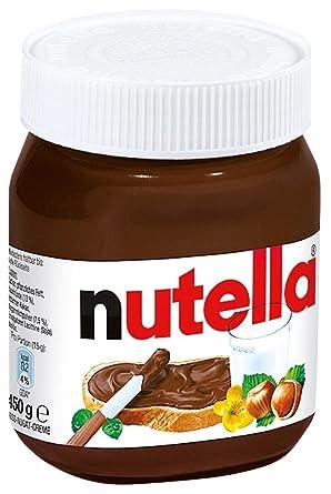 Amazon Com Ferrero Nutella 450g Glas Sandwich Spreads