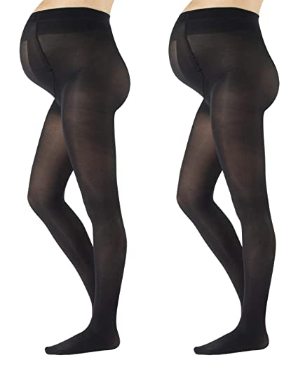 9f8d3e1a6c54f CALZITALY - 2 PAIRS Semi Opaque Maternity Tights, Pregnancy Tights,  ComfortableMaternity Pantyhose, 40 DEN | MADE IN ITALY |: Amazon.co.uk:  Clothing