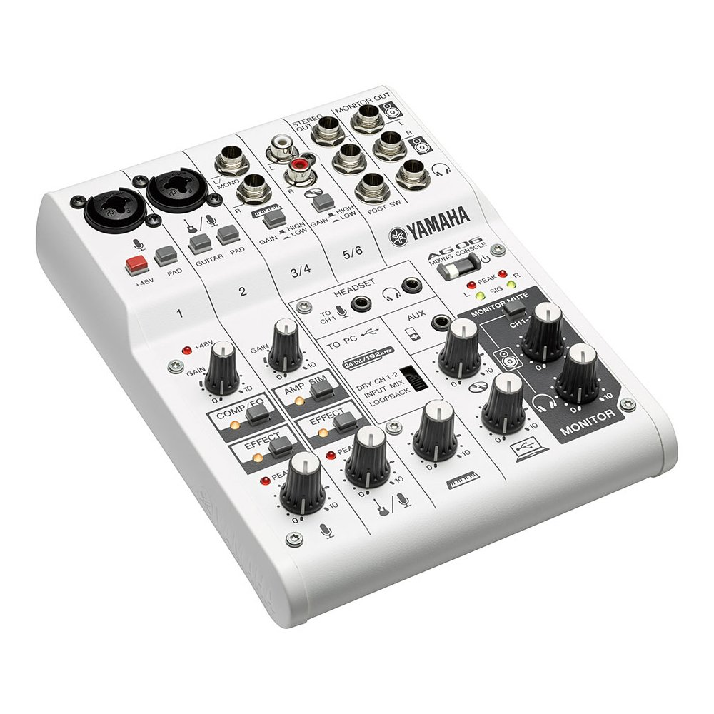 Interfaz de audio Yamaha AG