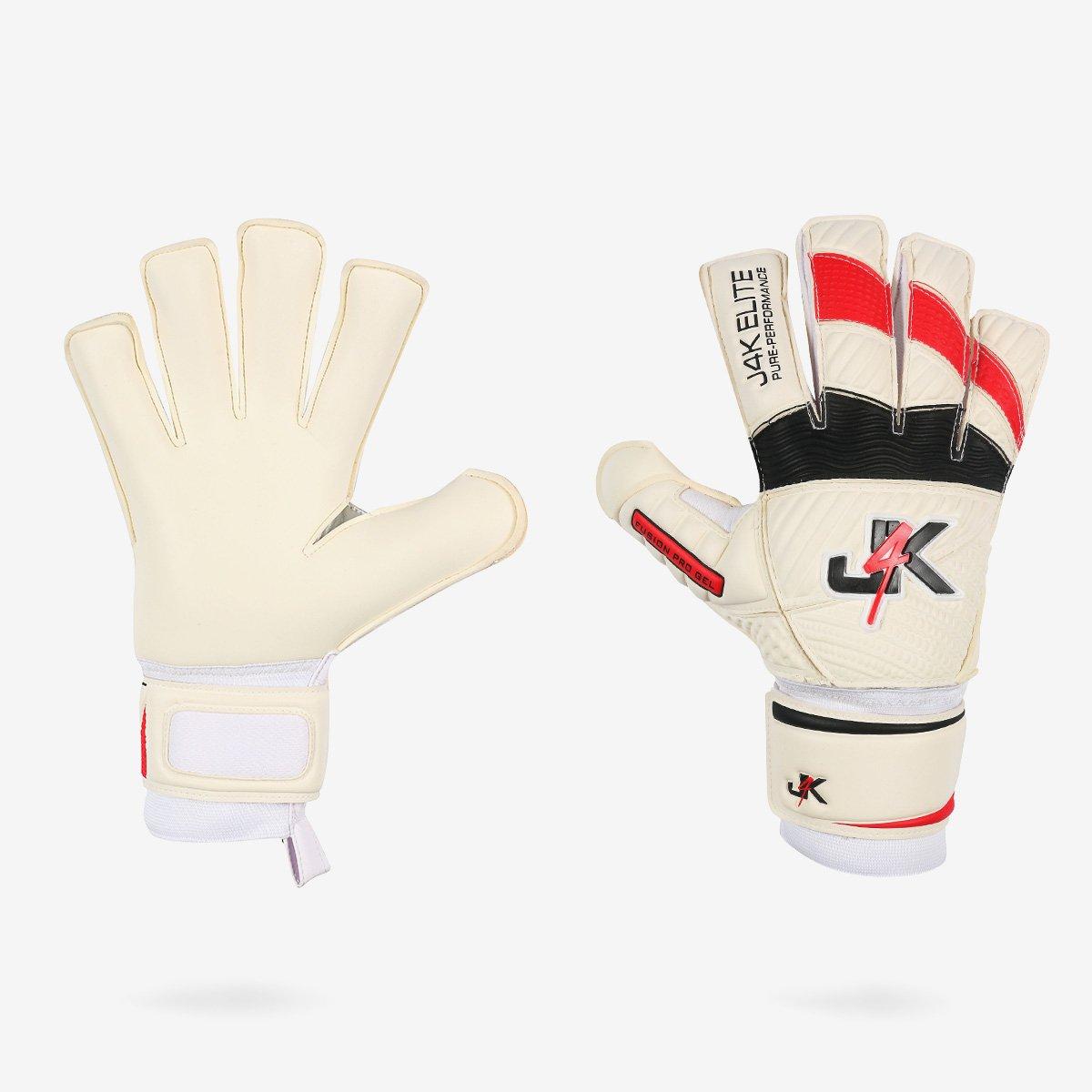 j4 K Fusion Pro Gelゴールキーパーサッカーゴールキーパーキーパーグローブ(サイズ6 ) B0785X72BV