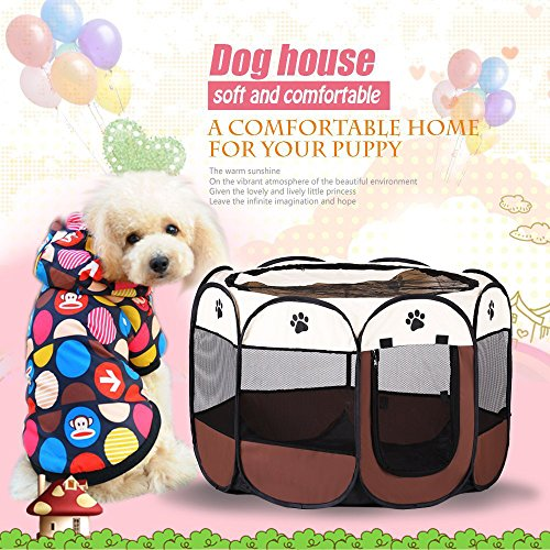 All4life Traveling Portable Doggie Puppy Exercise Kennel Small product image