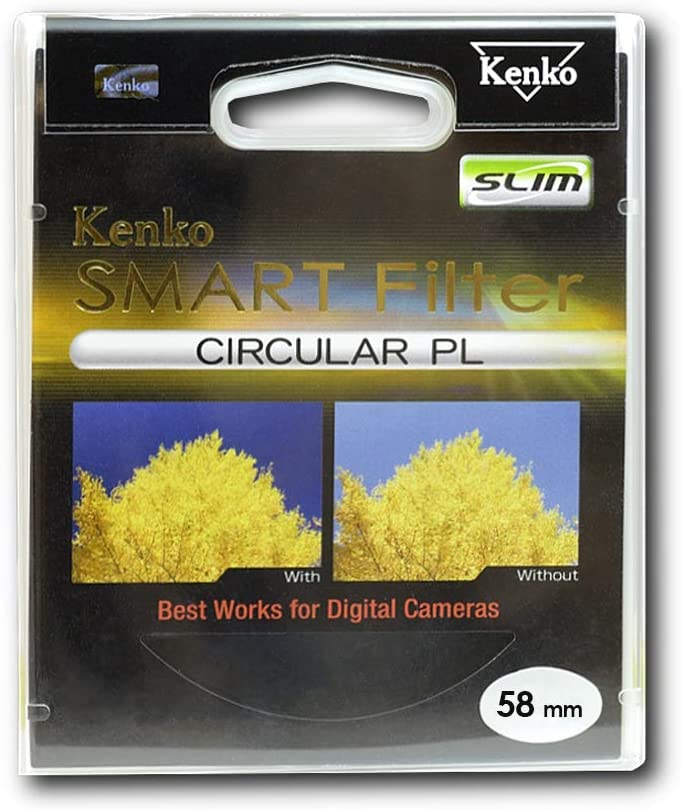 Kenko 67mm Smart C-PL Camera Lens Filters