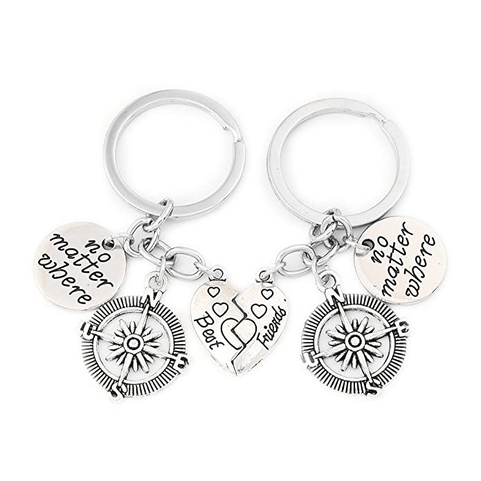 Amazon.com: Set de collares con las frases Best Friends y No ...