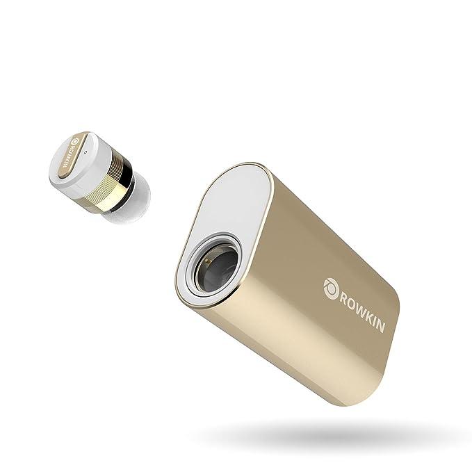 2 opinioni per Rowkin Bit Carica Singola, veri auricolari wireless con caricatore portatile.